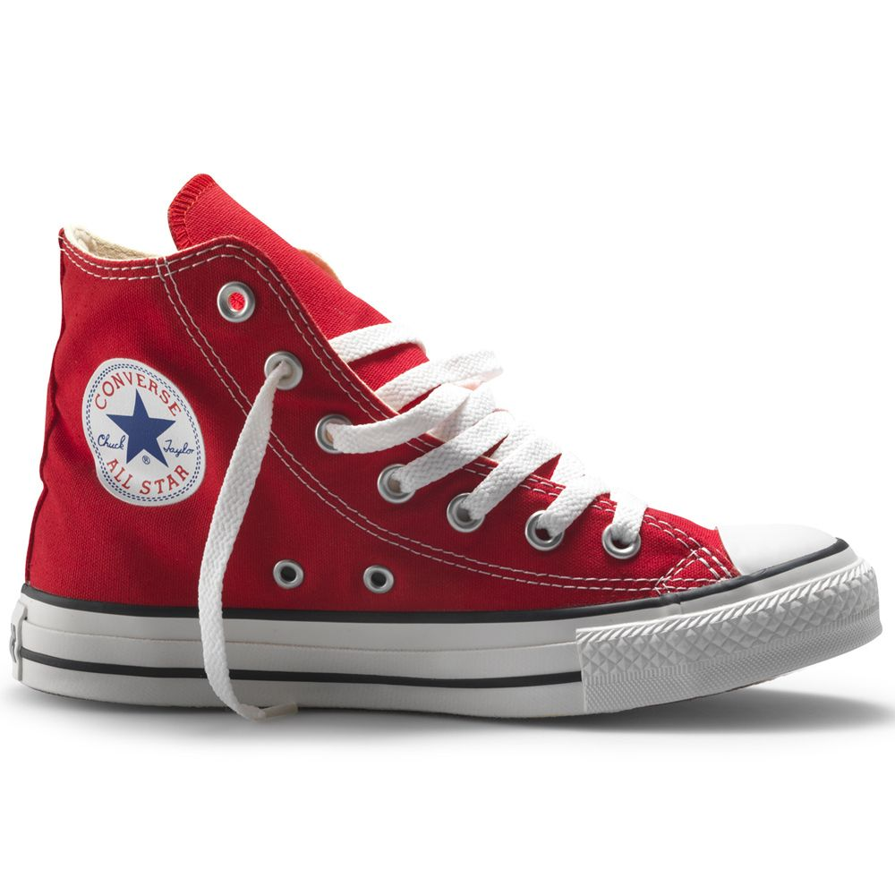 converse all star rojas mujer
