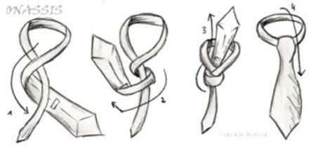 How To: Tie An Onassis Knot | Ari and Maria costumes | Pinterest ...