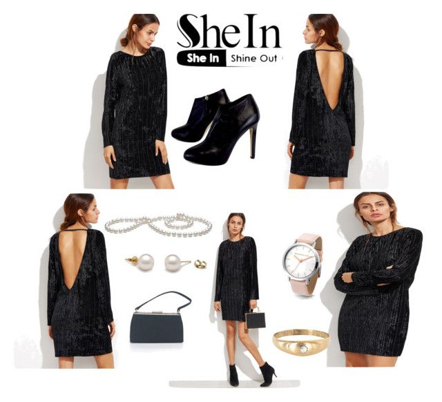 """Shein."" by klementina-r ❤ liked on Polyvore featuring Giuseppe Zanotti and Barneys New York"