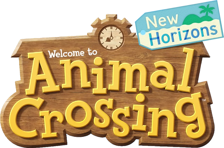 Transparent Animal Crossing New Horizons Logo by