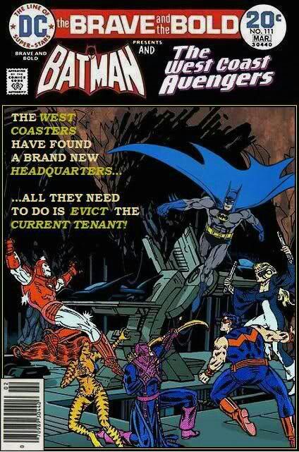 Batman & West Coast Avengers