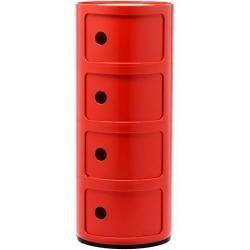Kartell Componibili 4 Elemente Container weiß Kartell #trendybedroom