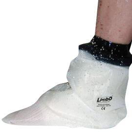 Gipsbescherming of gipshoes voor de voet