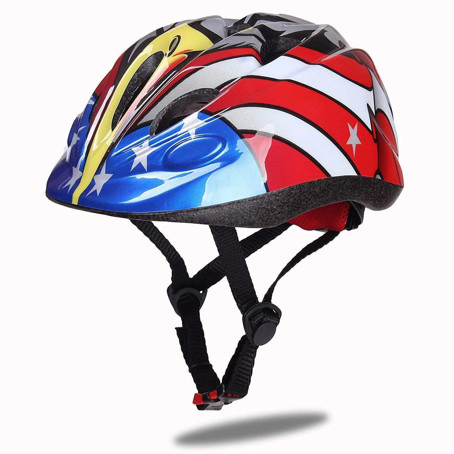 Multi-Sports Safe Durable Comfortable Bicycle Skateboard Helmets Dostar Kids Bike Helmet CPSC Certified Lightweight Impact Resistance Adjustable Helmet for Ages 5-14