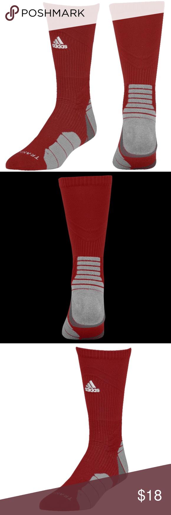 adidas Traxion Menace FootballBasketball Crew Socks