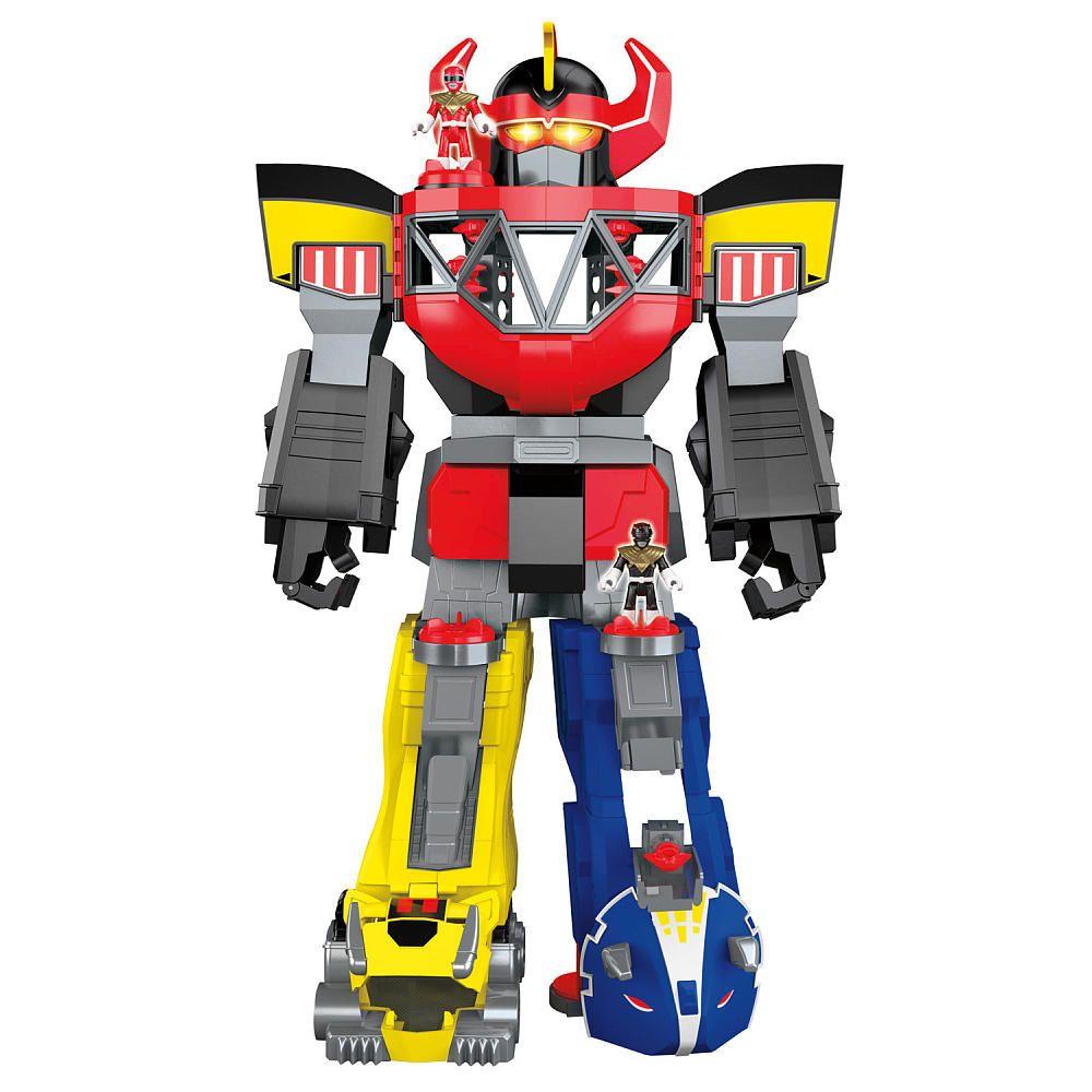 fisher price imaginext power rangers morphing megazord. Black Bedroom Furniture Sets. Home Design Ideas