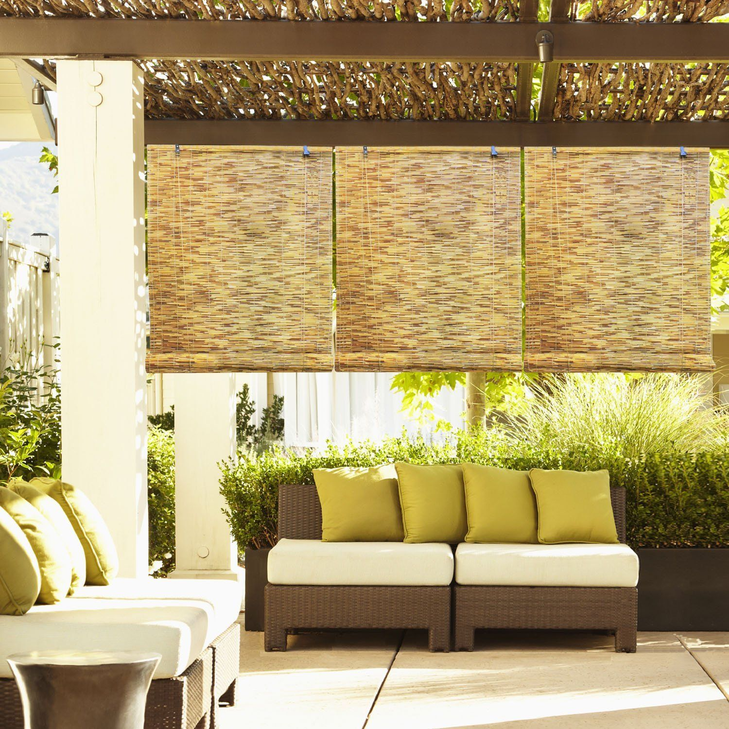 These 10 Outdoor Bamboo Blinds Can Add Value Around Your Patio Reference Shade For Lamp And Window Porch Shades Outdoor Blinds Bamboo Blinds