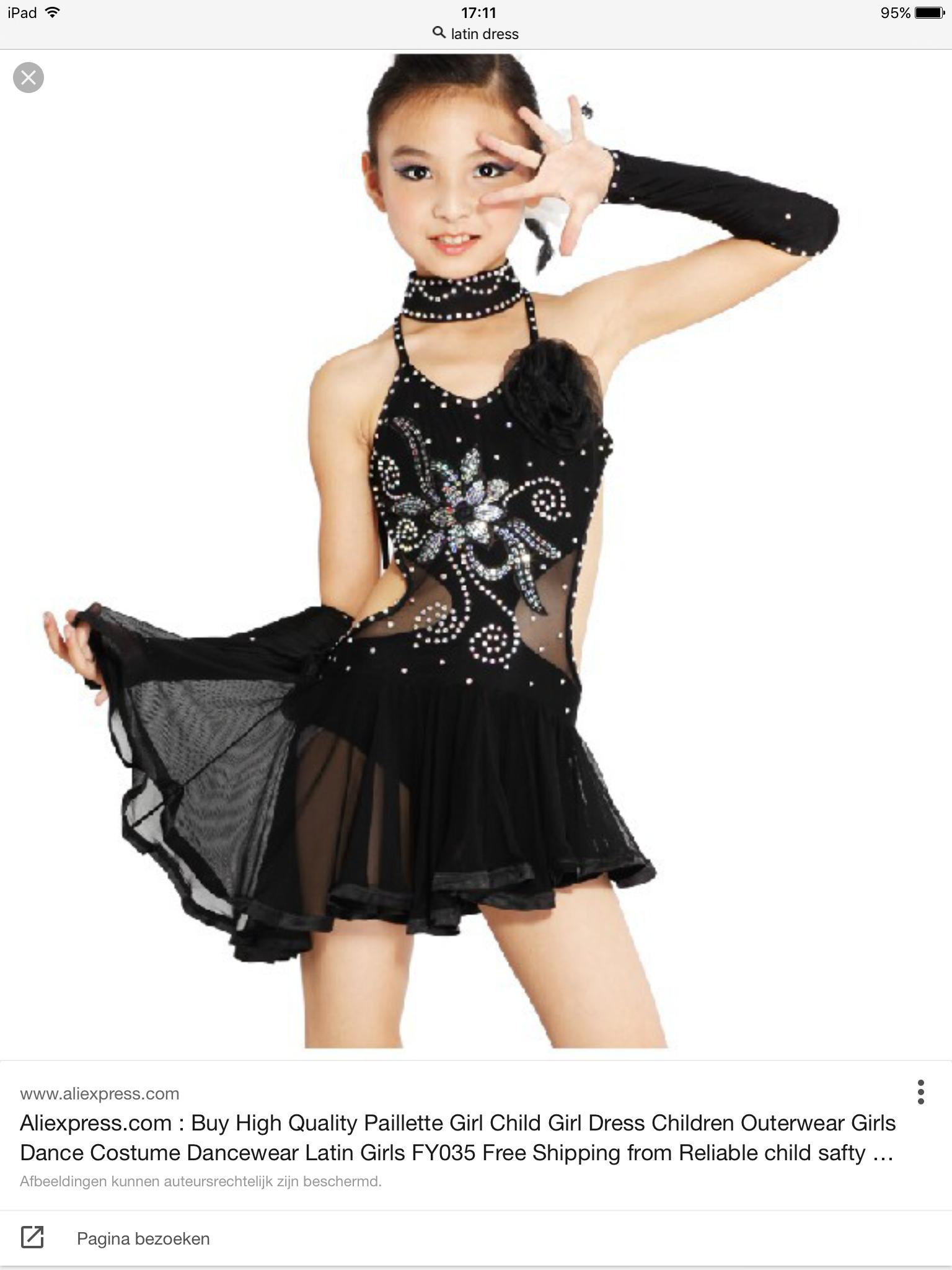 691a91dd575a Pin van Kathleen Hendrickx op Latin dress ice skate - Dance dresses ...