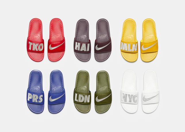 Nike Sportswear WMNS Benassi City Collection: Bolstering its casual  footwear lineup, Nike Sportswear unveils a women's Benassi slide in a