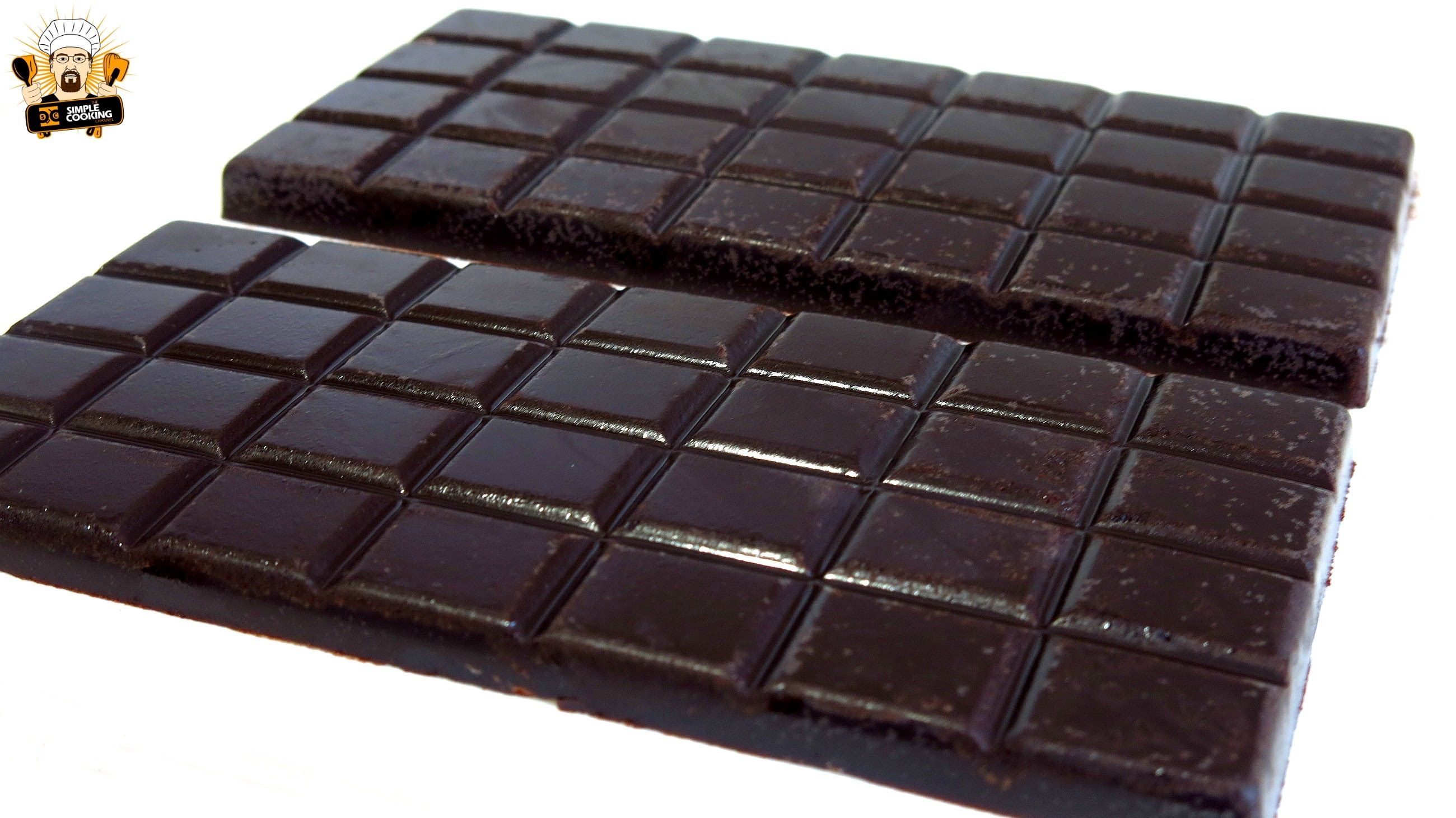 HOW TO MAKE DARK CHOCOLATE Ingredients 100 Grams of cocoa butter 2  Teaspoons of vanilla extract 1/4 Cup of honey 6 Tablespoons of dark dutch  cocoa