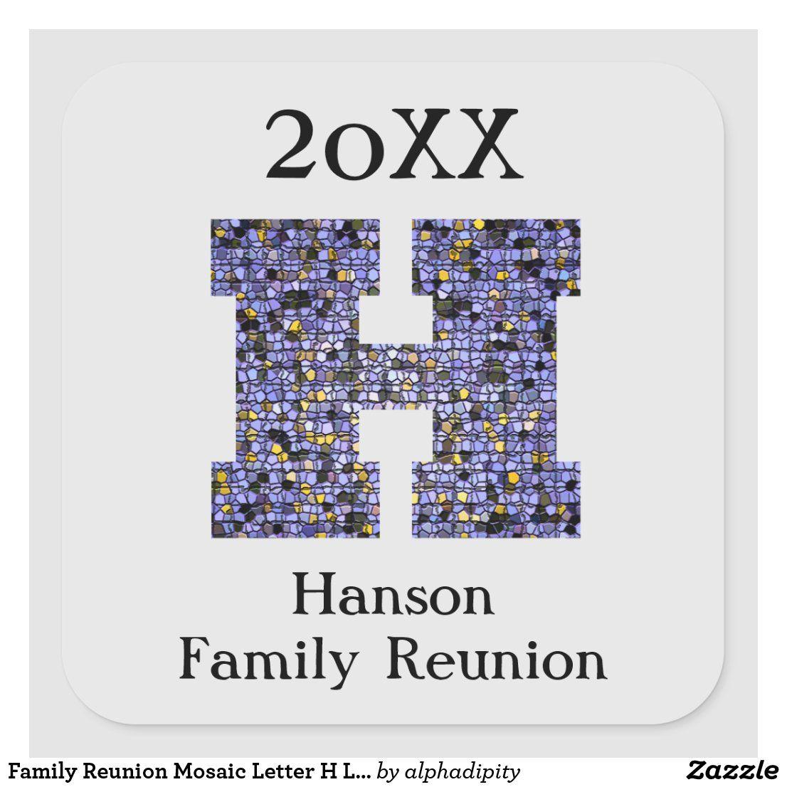FAMILY TREE REUNION LAST NAME CAR DECAL BUMPER STICKER WALL got hanson