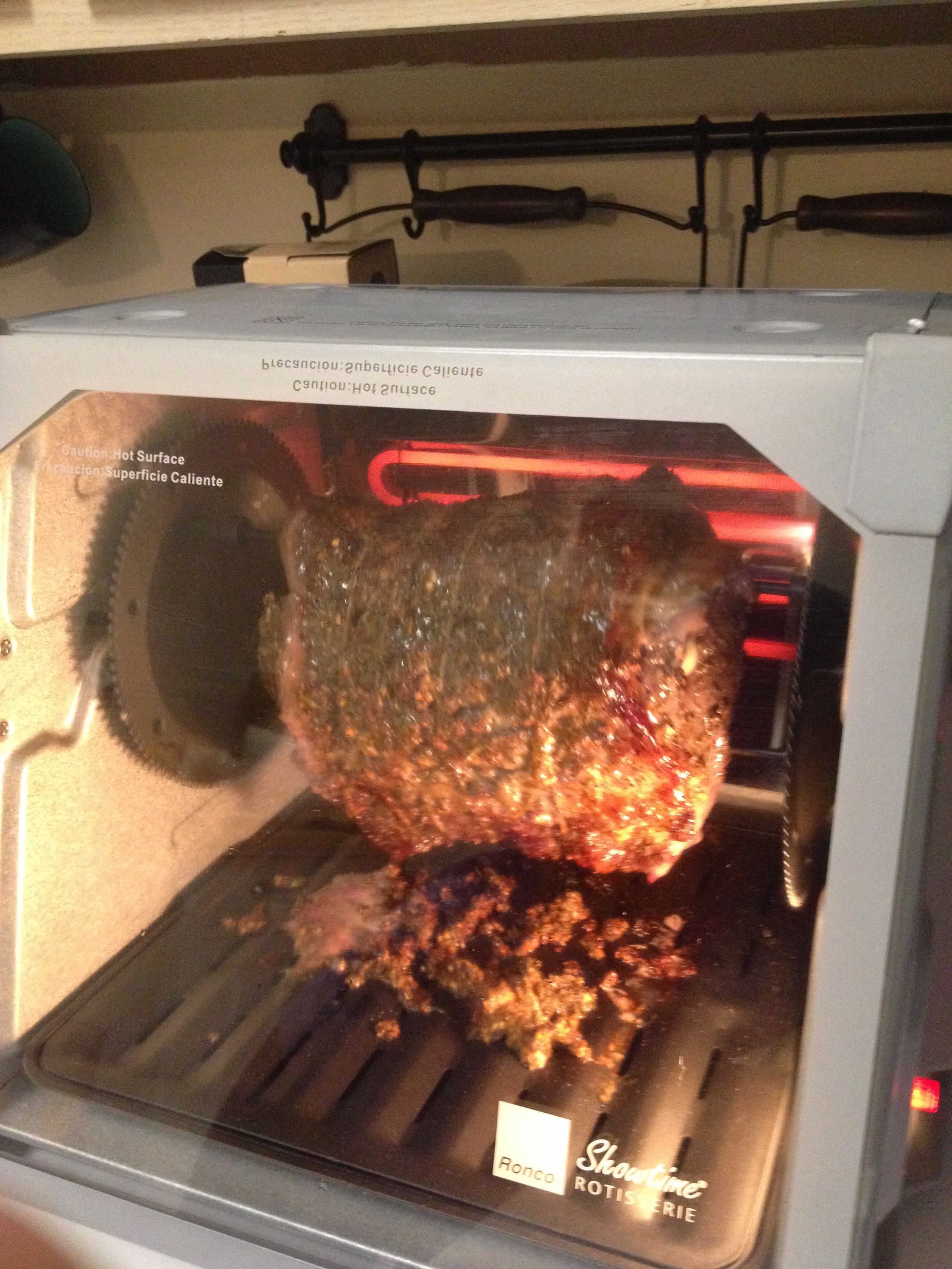 Prime Rib In Rotisserie Food By Hand In 2019 Beef Recipes For Dinner Rotisserie Cooker