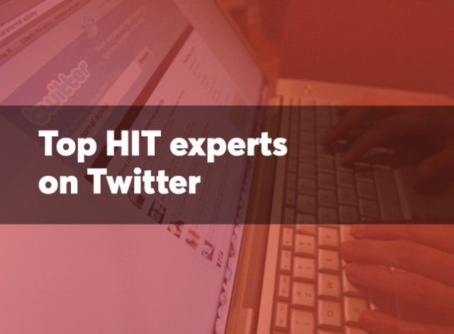 Healthcare Scene Included In List Of Top Health It Experts That Hit Execs Should Follow On Twitter Health Care Electronic Health Records Health