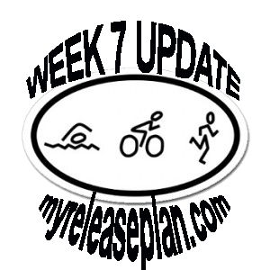 Ange's training update for week #7.  Almost there! | www.myreleaseplan.com/blog