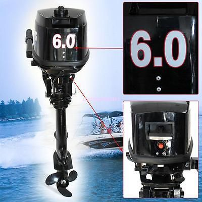 Boat Parts New Portable 6hp 2 Stroke Boat Engine Sailboat Outboard Motor Cdi Ignition Boat New Portable 6hp 2 Stroke B Boat Engine Outboard Motors Outboard