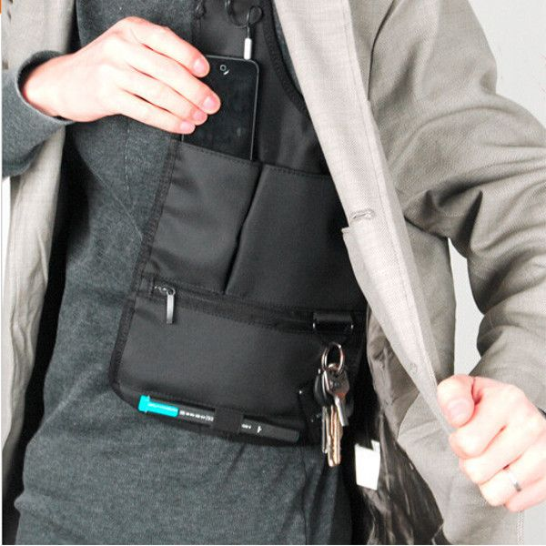 3fae3e7a44f3 Men s Anti-Theft Hidden Agents Underarm Shoulder Bag - 11 ...