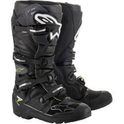 Photo of Alpinestars Tech 7 Enduro Drystar Motocross Stiefel Schwarz 47 Alpinestars