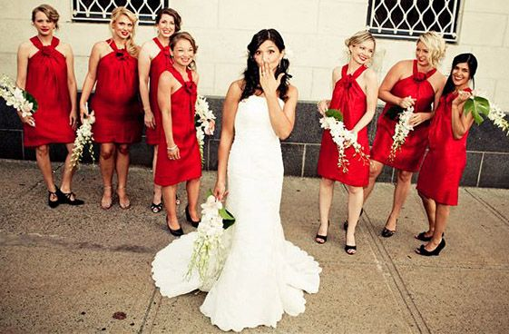 For Convertible Bridesmaid All Body Types So Cute Wedding Ideas Pinterest Red Bridal Showers