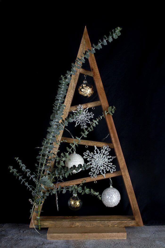 diy weihnachtsbaum mit eukalyptus holiday diy. Black Bedroom Furniture Sets. Home Design Ideas