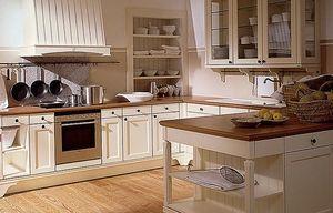 traditionelle küche aus lackiertem holz (landhaus-stil) sc 46, Moderne