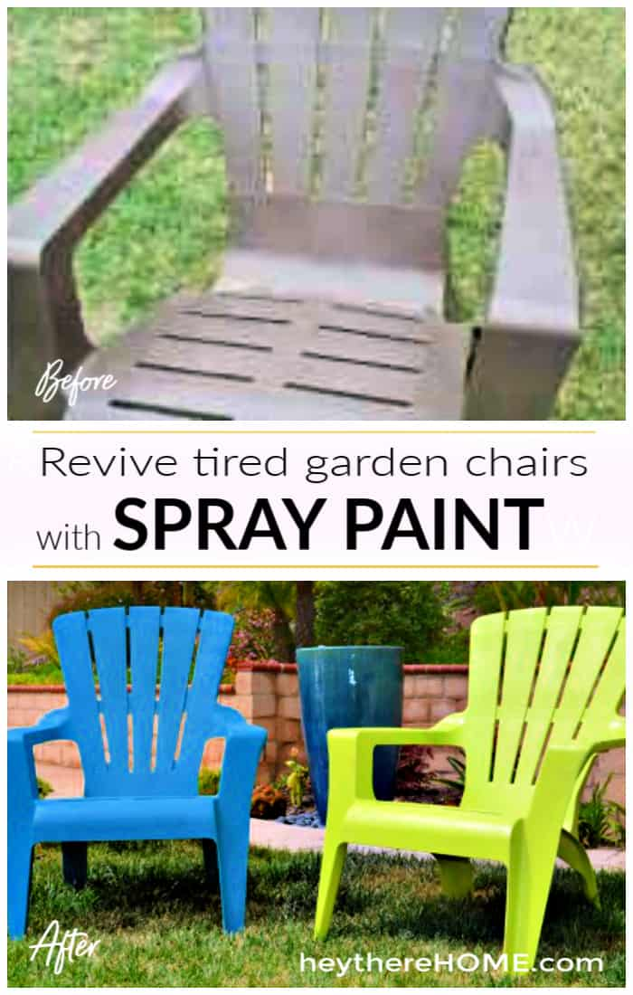 How To Paint Plastic Outdoor Chairs In 2020 Plastic Outdoor Furniture Outdoor Chairs Spray Painting Outdoor Furniture