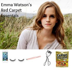 Want to know what Emma Watson takes to a red carpet with her? Find out here!