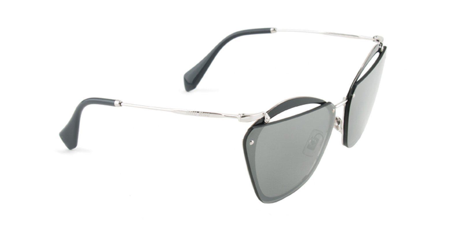 6a14817e1dc7 Miu Miu - MU54TS Gray Silver - Gray sunglasses