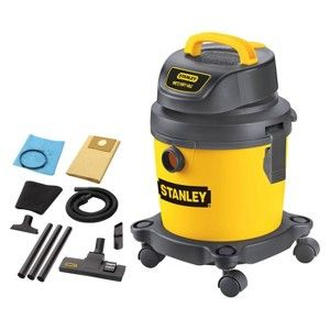 Stanley 2.5 Gallon Wet/Dry Vacuum - Yellow