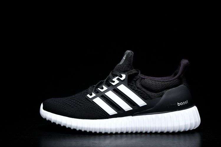 efdf8567e4a01e Fashion Adidas Men Ultra Boost X Yeezy Boost Running Shoes Black White