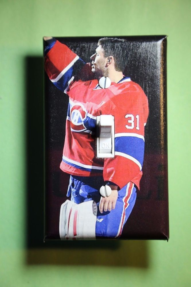 Carey Price Montreal Canadiens Nhl Light Switch Cover Sports Room