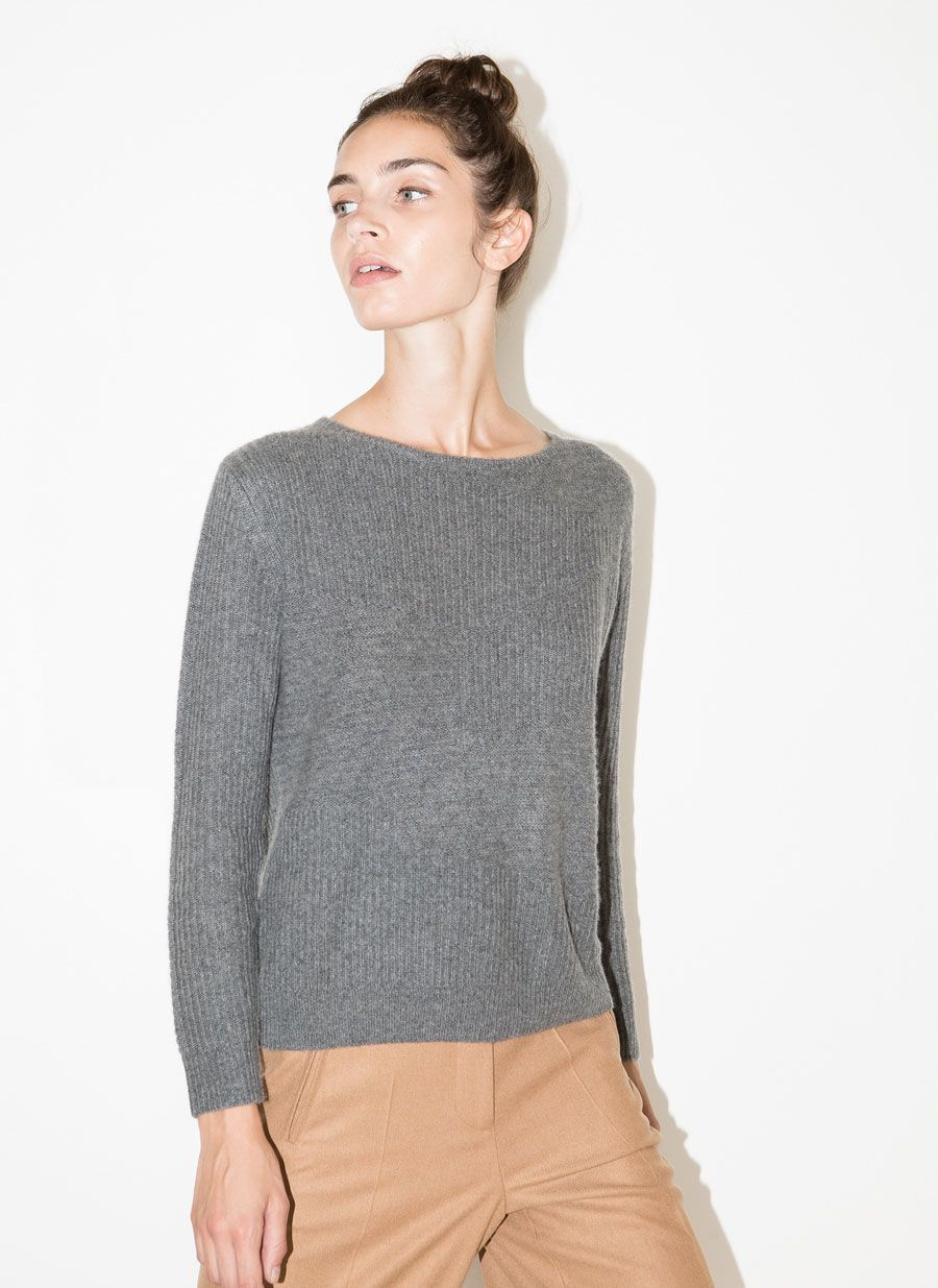 Cashmere sweater - See all - READY TO WEAR - Uterqüe Netherlands