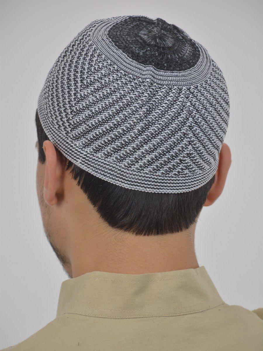 Classic gray knit kufi me740 islamic clothing mens kufi classic gray knit kufi me740 bankloansurffo Choice Image