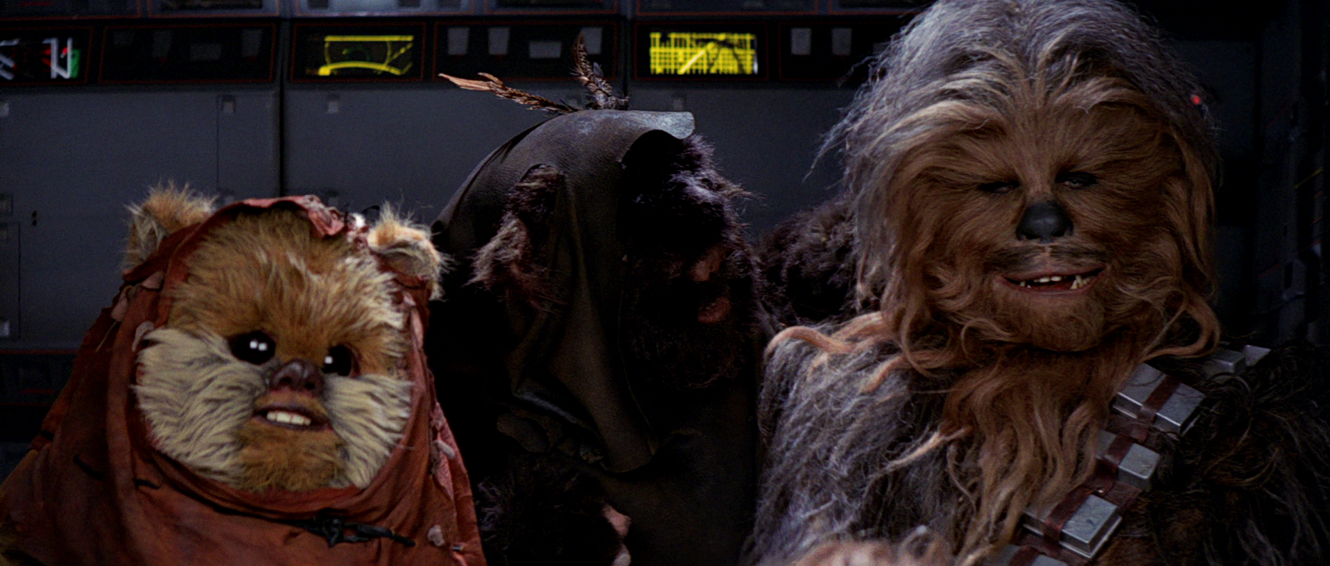 Resultado de imagen de chewbacca at-st