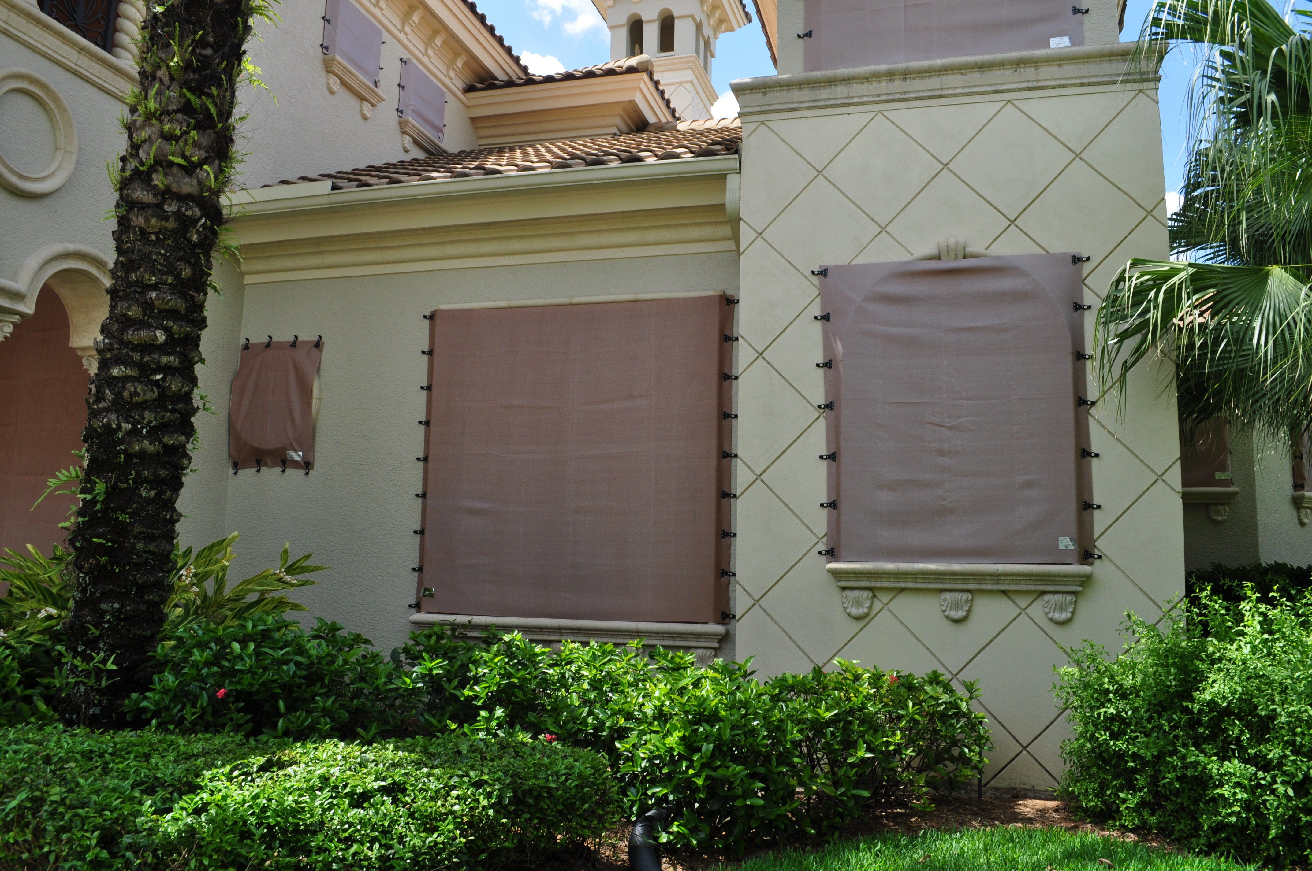 Astroguard Hurricane Fabric Protection From Naples Shutter Shutters Exterior Types Of Shutters Shutters