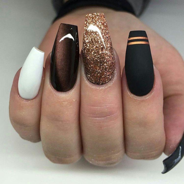Ballerina Nägel im Trend – Diese Nagelform wirkt total edel und stilvoll! #nails