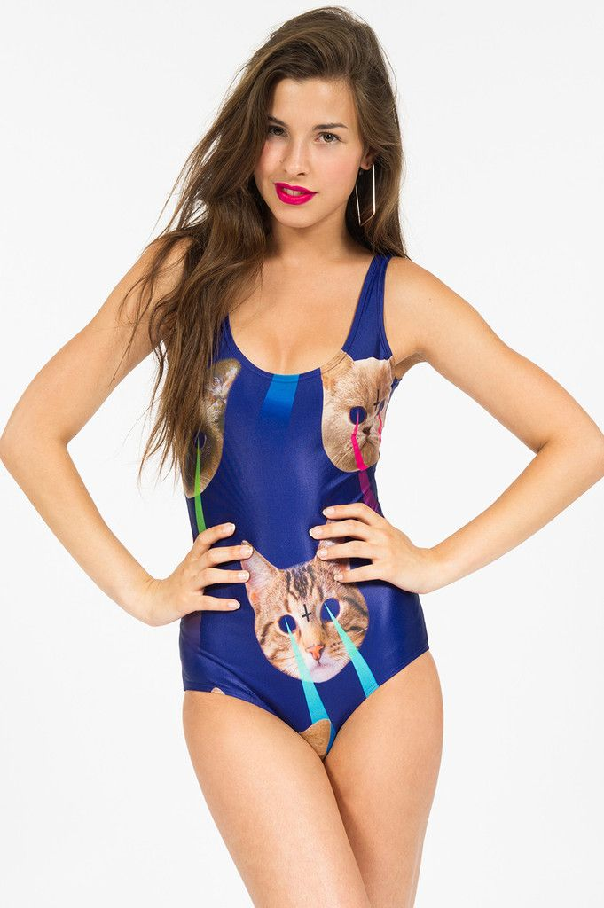 Laser Space Cats Swimsuit