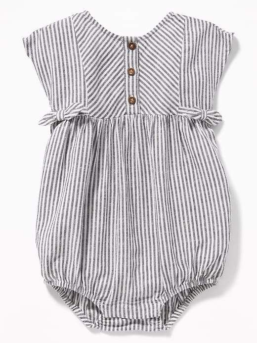 0311684f33b1 Old Navy Striped Bubble Romper for Baby