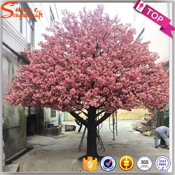 Source Large Outdoor Lighted Cherry Blossom Trees Large Artificial Flower Cherry Blossom Tree For Large Artificial Flowers Artificial Tree Cherry Blossom Tree