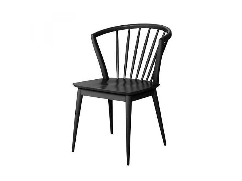 Bloomingville Laura chair black wood