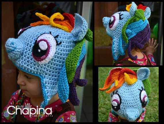 c5f689be819c0 Rainbow Dash (or any other) My Little Pony Hat in 2019