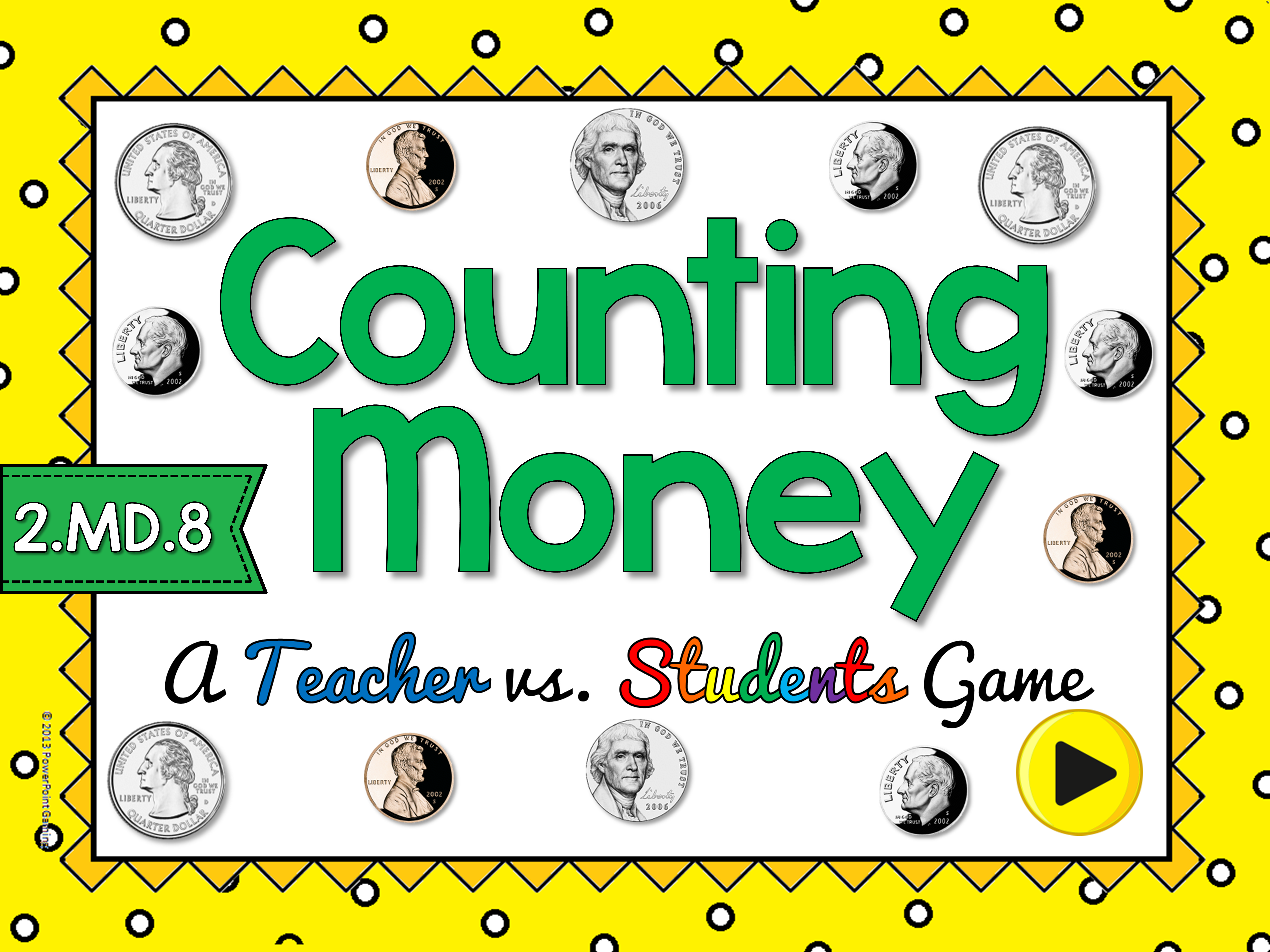 Counting Money Smartmoard Activity