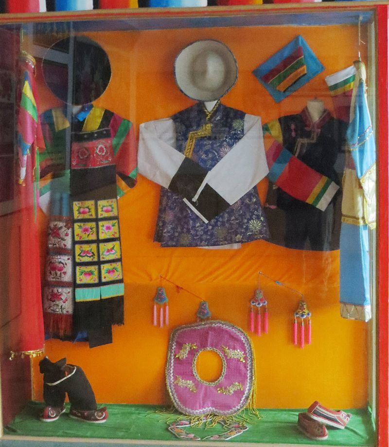 Tibetan Tu costumes Monguor people Wikipedia, the free