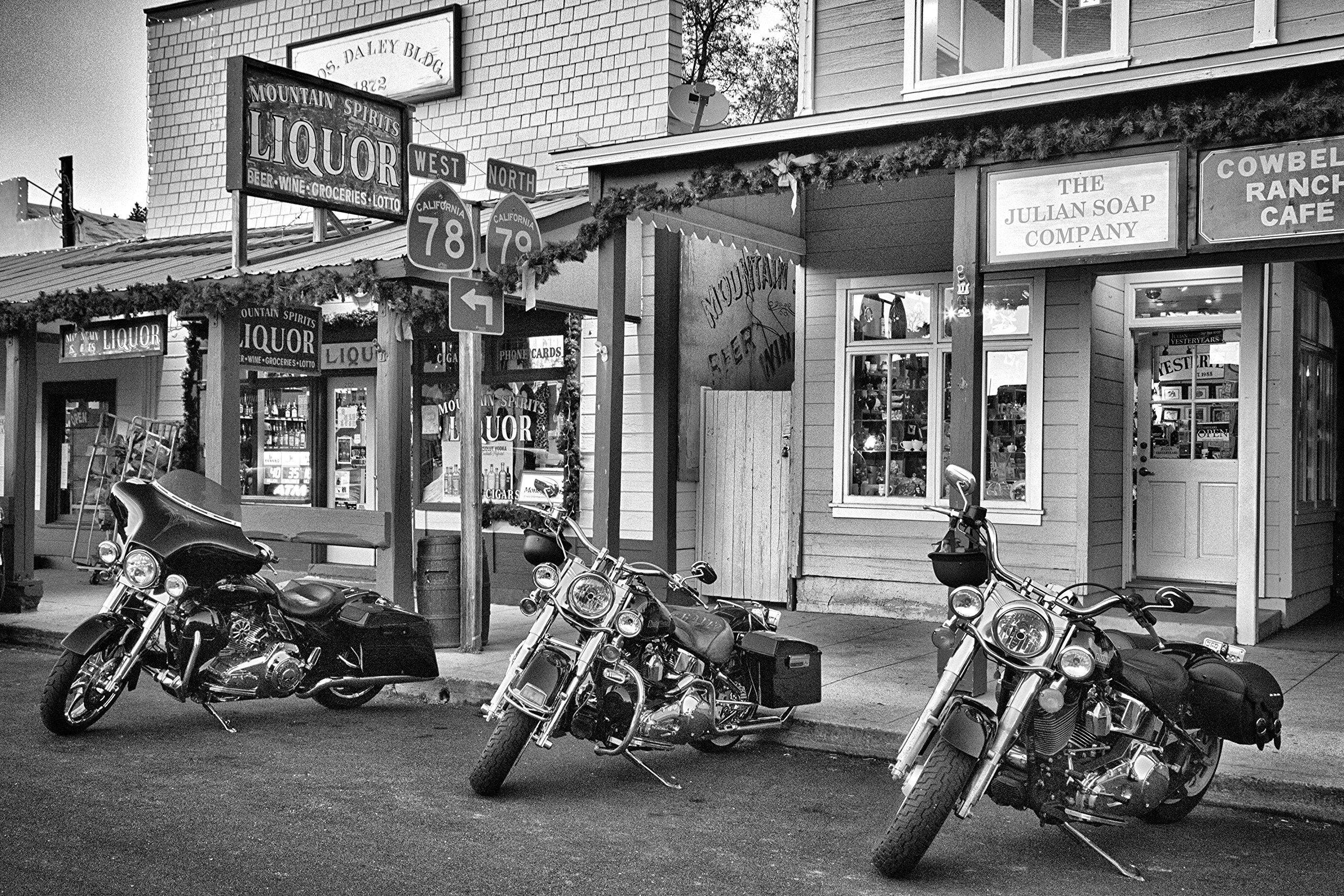 x black and white fine art photograph harley davidson art