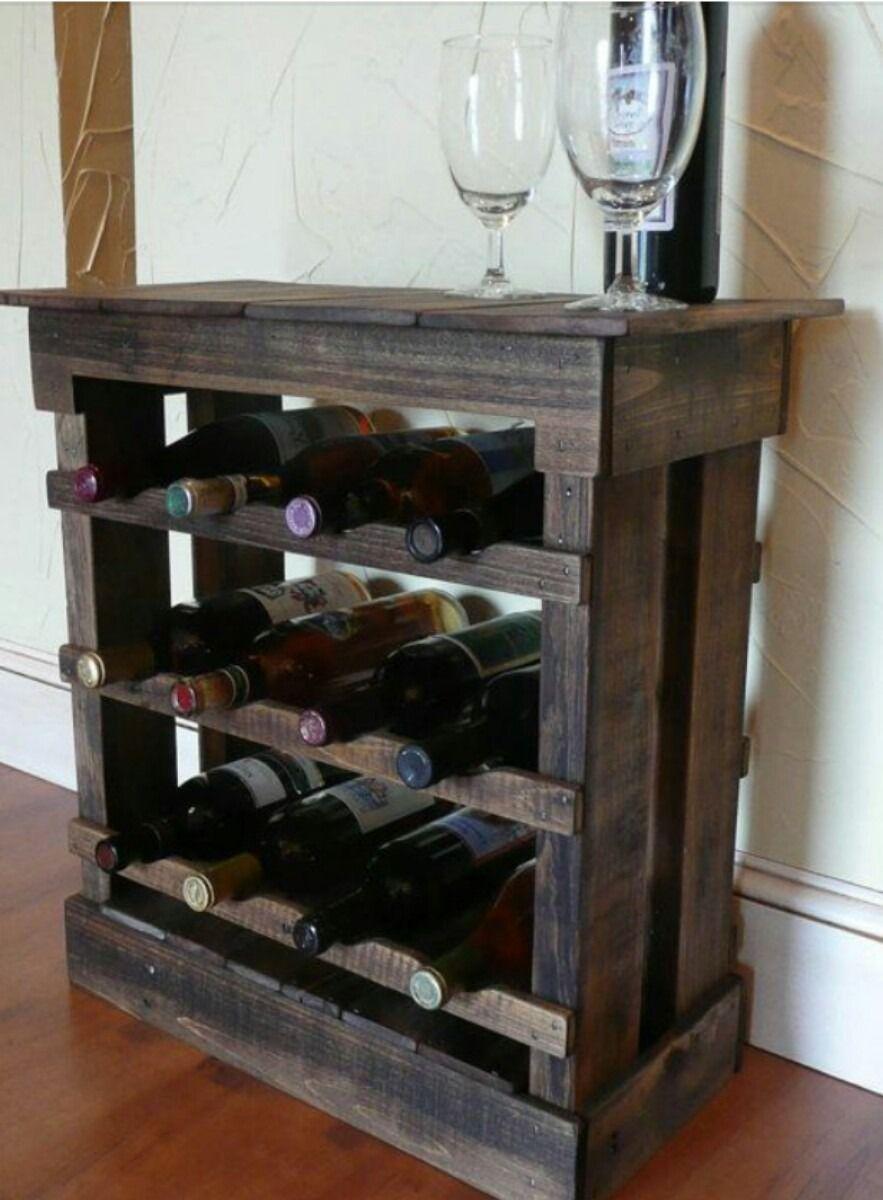 Adega madeira prateleira vinhos bebidas bar sala cozinha for Bar de madera pequeno