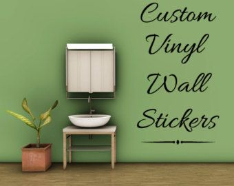 Create Your Own Quote Personalized Wall Quote Sticker Wall Decal - Custom wall letter decals