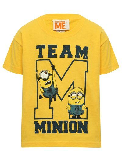 Boys Disney Cartoon Character MINIONS Cotton Long Sleeves T.Shirts Tops,2-8years
