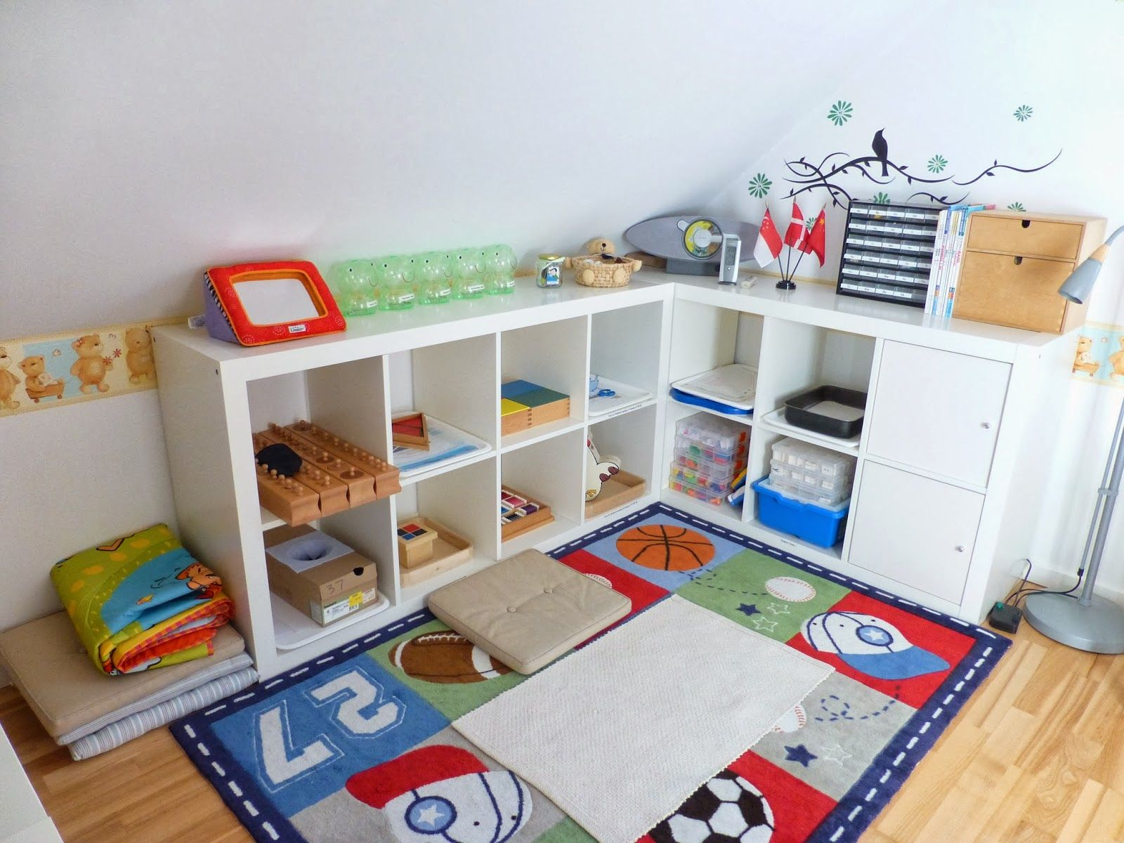 Baby Play Area How To Organize Your Childs Montessori Classroom Designing Your