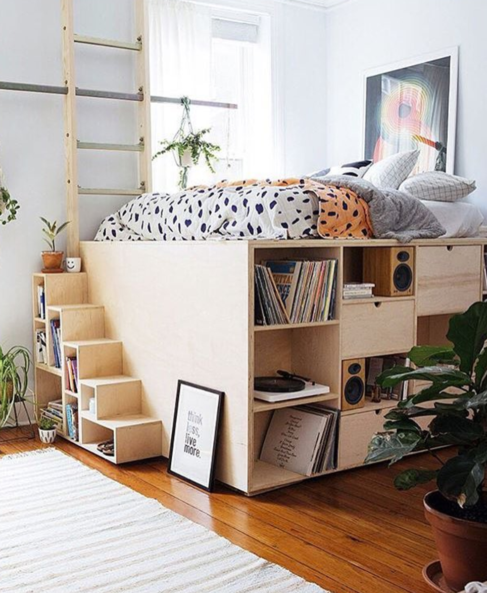 Storage Tips For Small Rooms Tiny Bedroom Bedroom Design Home