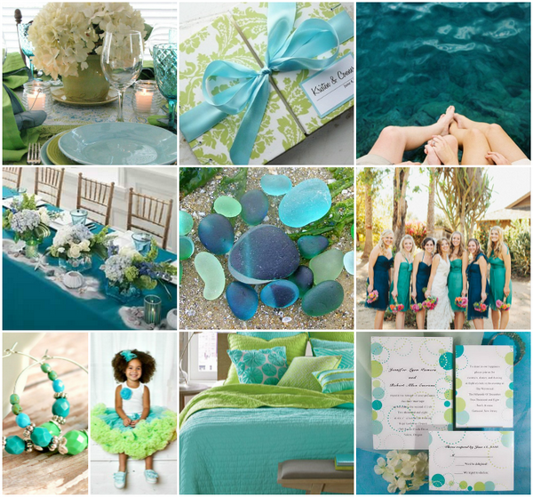 Top 10 Hot Beach Wedding Color Schemes and Ideas | Wedding colour ...