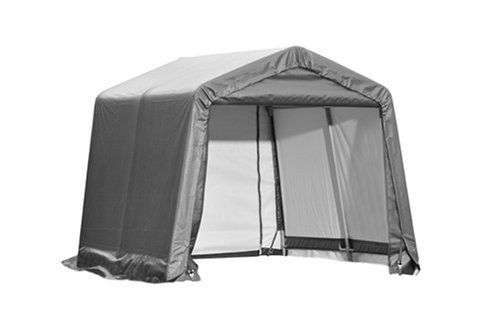 ShelterLogic 10X10X8 E Series Shed (Gray) by Shelter Logic ...